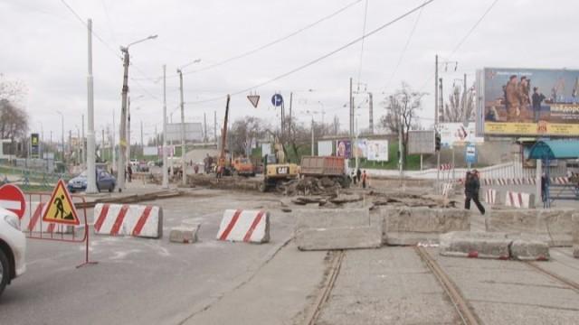 Ремонтные работы в районе Пересыпи не повлекли за собой транспортный коллапс