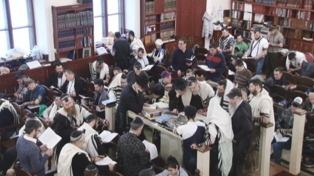 Одесские евреи встретили Пурим