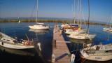 Пляж Отрада в Одессе. Море. Яхт-клуб. Прогулочные катера