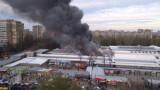 Рынок «Северный» — масштабный пожар