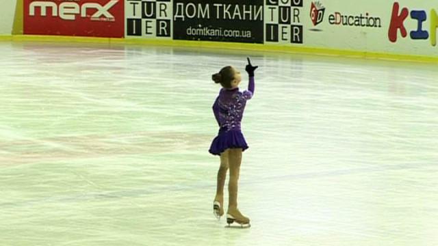Финальный этап всеукраинских соревнований по фигурному катанию