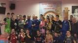 Тренировка сборной Украины по тайскому боксу