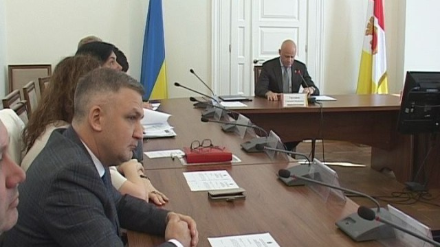 Заседание исполкома Одесского горсовета