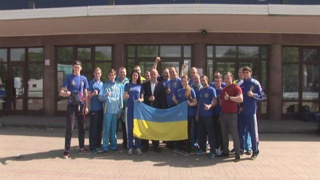 Украинская сборная: напутствие перед Чемпионатом