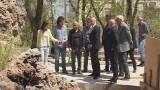 Мэр проинспектировал ход работ в Стамбульском парке
