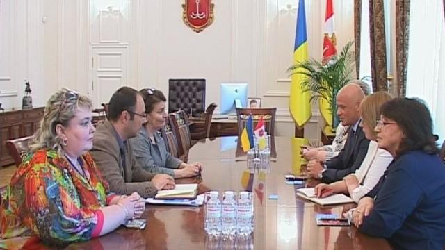 Мэр Одессы встретился с представителями ЮНИСЕФ в Украине