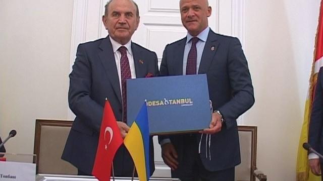 Турецкая делегация встретилась с мэром Одессы