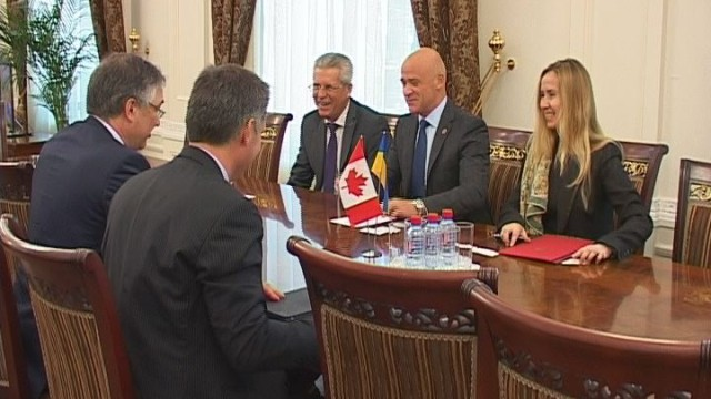Апгрейд канадско-одесских отношений