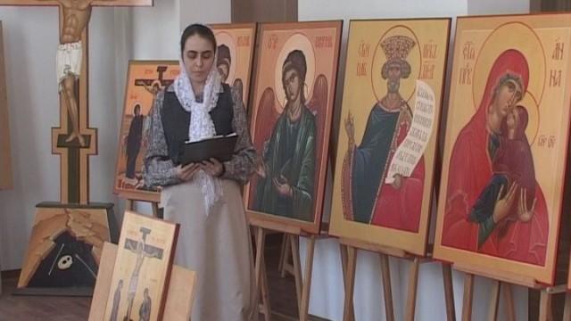 Молодые иконописцы Одессы представили свои дипломные работы