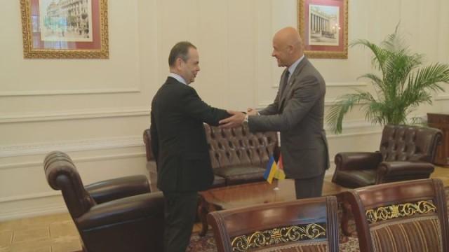 Посол Италии в Одессе: встреча с мэром города