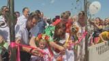 Олег Ляшко открыл детский городок в Овидиополе