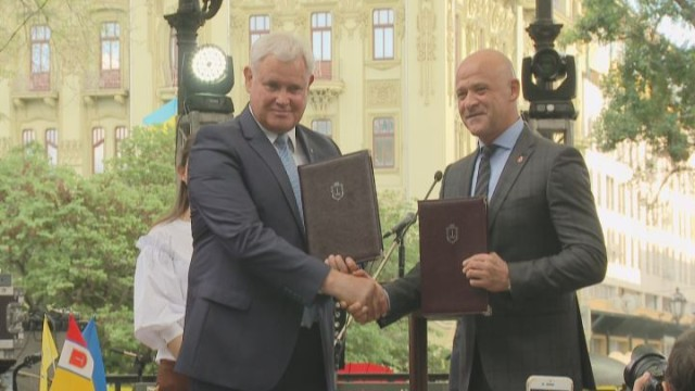 Одесса и Клайпеда: подписание Меморандума о сотрудничестве