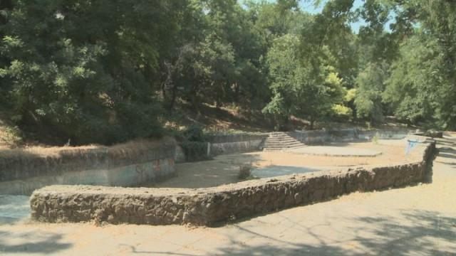 Мэр рассказал о ходе работ в Греческом парке