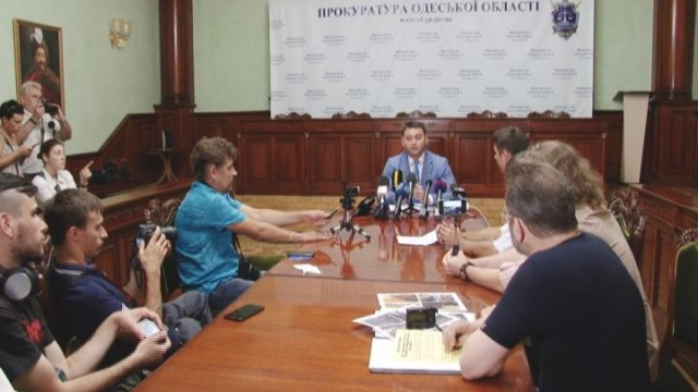 Одесское побережье: активисты посетили прокуратуру