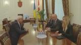 Мэр Одессы встретился с мэром Клайпеды