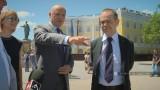 Посол Италии в Украине — Давиде Ла Чечилия. Стамбульский парк
