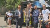 Суперкубок Украины отправился в путешествие по Одессе