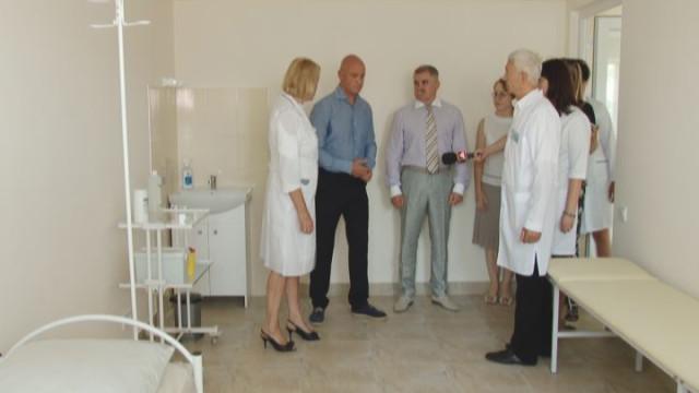 Открытие семейной амбулатории в Малиновском районе