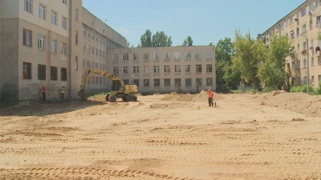 Строительство многофункционального стадиона на Таирова