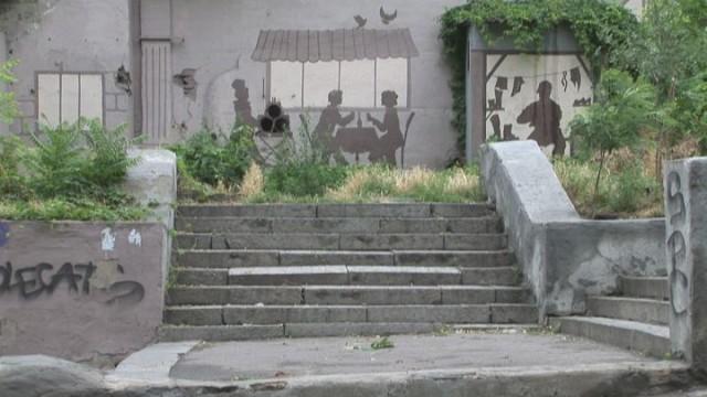 Карантинный спуск — новый street-art объект