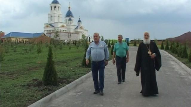 Свято-Покровский скит посетил меценат Пантелеймон Бумбурас