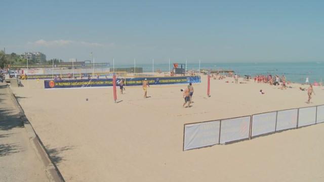 Развитие города: открытие Центра пляжных видов спорта