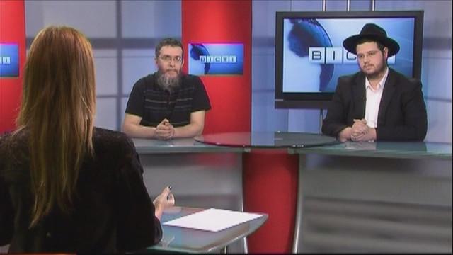 ВЕСТИ ОДЕССА / Гости Болеслав Капулкин и Менахем-Мендел Вольф