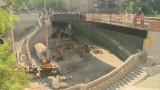 Завершающий этап реконструкции моста Коцебу