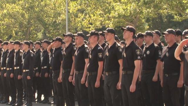 В Одессе отметили День полиции