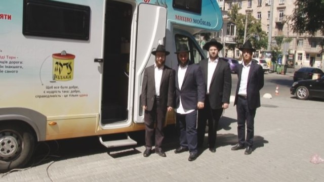 Синагога на колесах: Мицво-мобиль завершил своё путешествие в Одессе