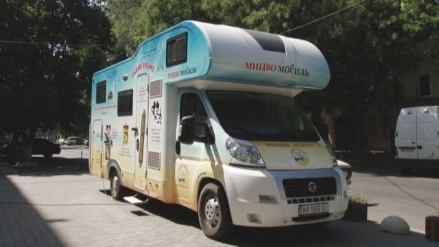 Мицва-мобиль: большое путешествие