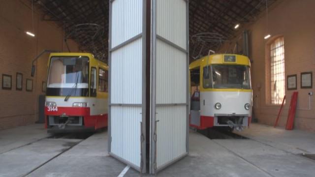 Обновленные трамваи для улиц Одессы