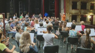 Репетиция гала-концерта