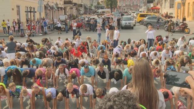 В Одессе установили спортивный рекорд
