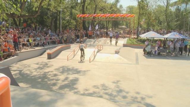 В Одессе открылся уникальный скейт-парк