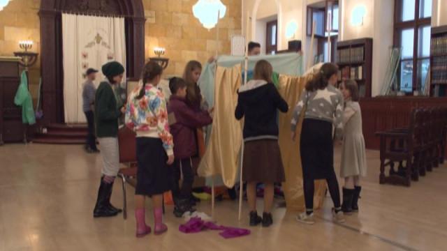 Как празднуют Суккот в еврейском клубе Enerjew