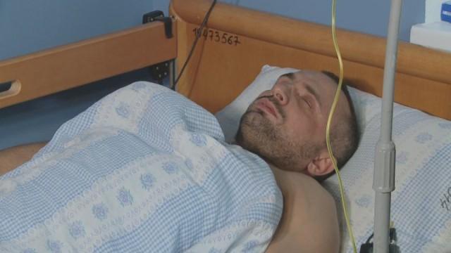 Святослав Огренчук пострадал на митинге Саакашвили
