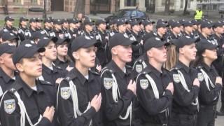 День Защитника Украины: будущие правоохранители дали присягу