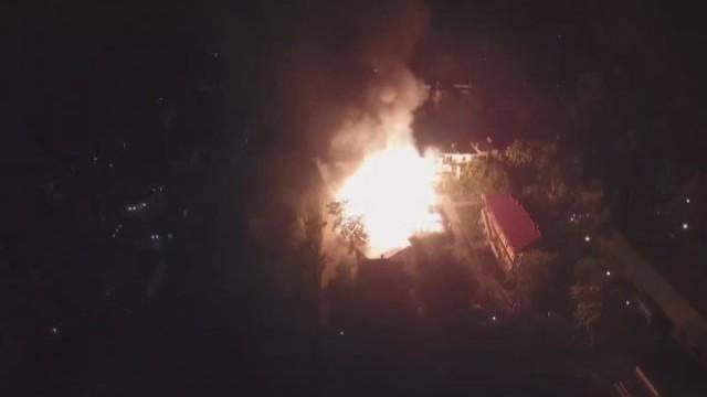 Мэр призвал всех содействовать расследованию по пожару в лагере