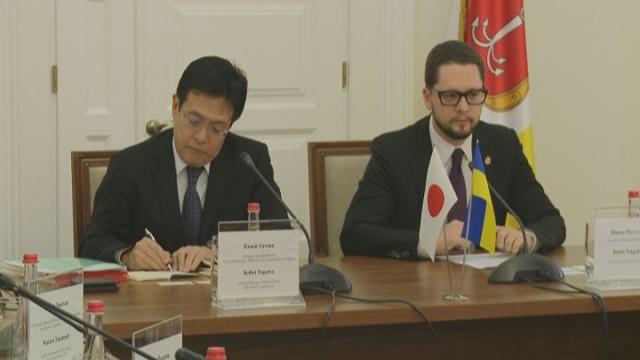 Представитель корпорации Mitsubishi посетил Одесскую мэрию