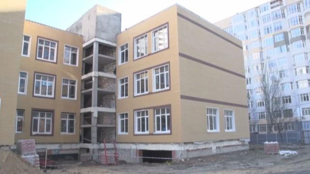 На стройплощадке самой современной школы Одессы