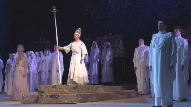 В Одесской опере мистическая «Набукко»
