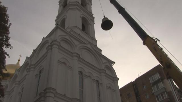 Новые кампаны Успенского собора