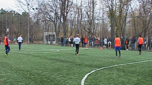 Одесситы хотят обновить футбольную площадку