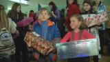 Маленьким одесситам привезли 25 тысяч подарков