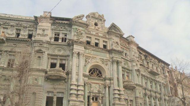 Дом Руссова дождался реставрационных работ