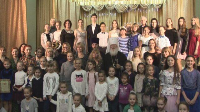 Митрополит встретился с юными талантами Одессы