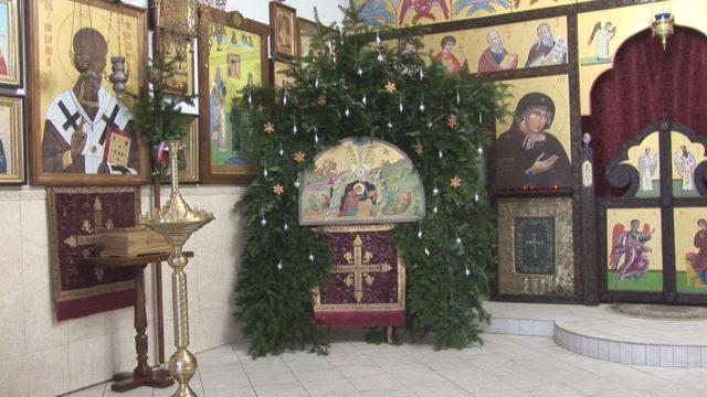 Храм перед Рождеством Христовым