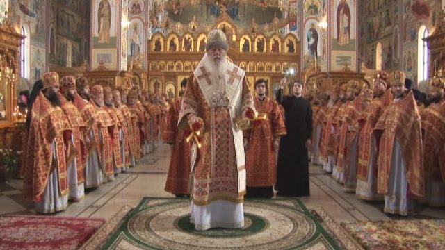 День тезоименитства митрополита Агафангела