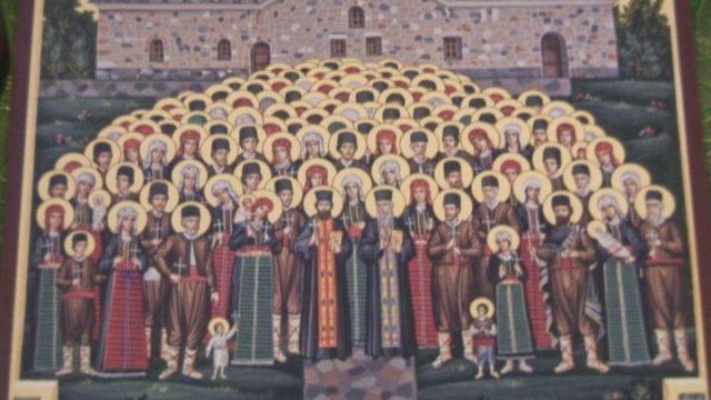 Первый молебен на болгарском